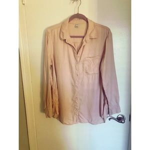 Old Navy - Pink Button Down